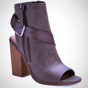 DV for Target Teisha Buckle Open Toe Bootie